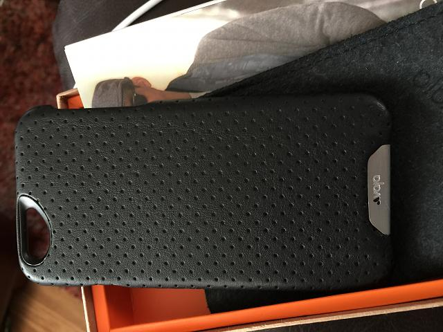 Vaja Grip Iphone 6  black leather case-img_0052.jpg
