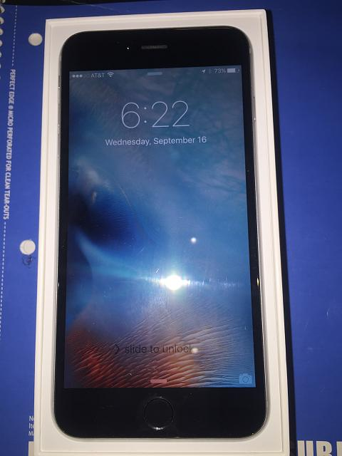 WTS iPhone 6 Plus Space Gray  AT&T 128GB - Applecare + until Sept 2016-img_2001.jpg