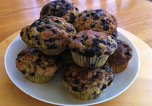 The iMore 20K / 50K Post Challenge - Are you up for it?-blueberry-muffins.jpg