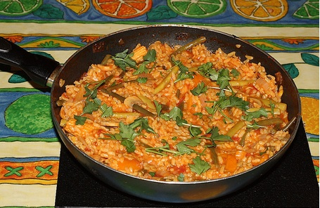 The iMore 20K / 50K Post Challenge - Are you up for it?-vegetarian-paella.jpg