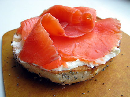 The iMore 20K / 50K Post Challenge - Are you up for it?-bagel-lox.jpg