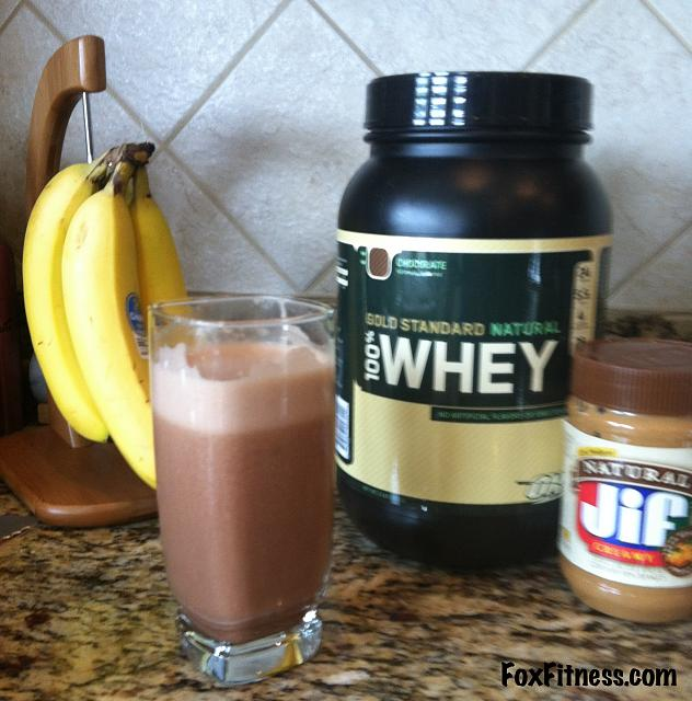 The iMore 20K / 50K Post Challenge - Are you up for it?-chocolate-peanut-butter-banana-protein-shake.jpg