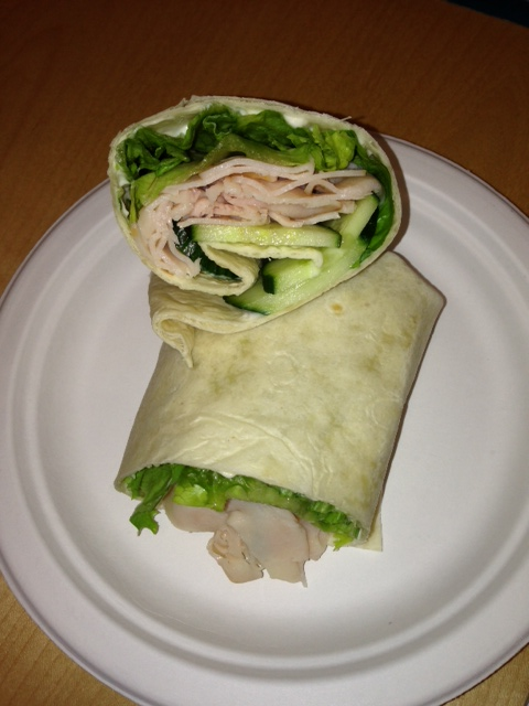 The iMore 20K / 50K Post Challenge - Are you up for it?-turkeycucumberwrap.jpg