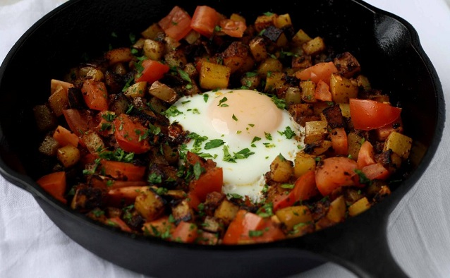 The iMore 20K / 50K Post Challenge - Are you up for it?-potato-chorizo-egg-breakfast1.jpg