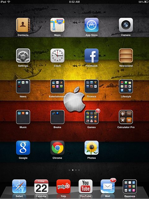 Show us your iPad Mini Lock and Home screen:-photo.png