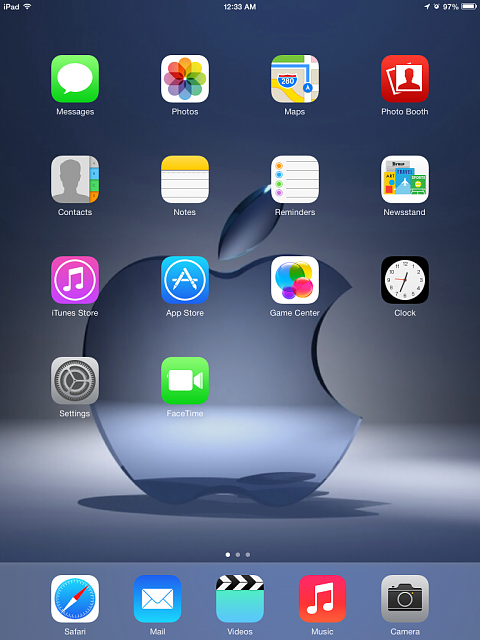 ipad home screen images
