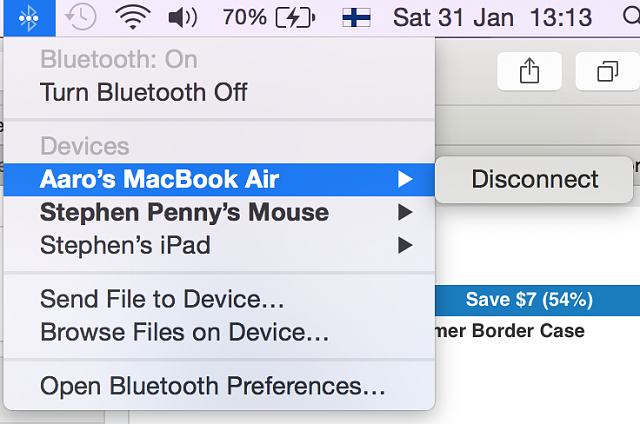 Why is my Mac allowing random Bluetooth connections? - iPhone, iPad
