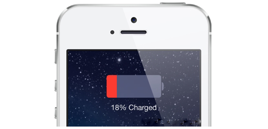Mavericks: Got rid of the skeumorphics? Consistency would be nice.-battery_low_ios7.jpg