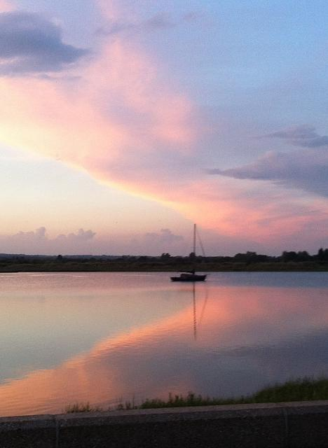 Weekly photo contest: Reflections!-evening-sunlight-maldon-essex-uk.jpg
