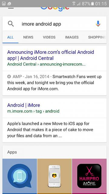 Android iMore App - can't find on Android devices-uploadfromtaptalk1476944256191.jpg