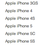 No 5s option in device selection-iphone5-devices.png