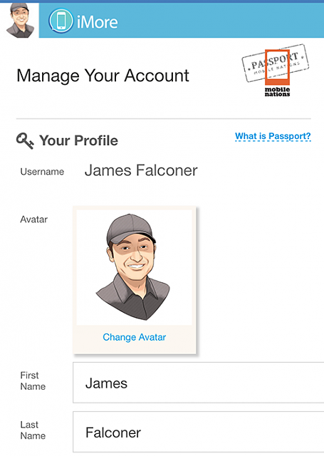 How to change avatar on iMore-profile.png