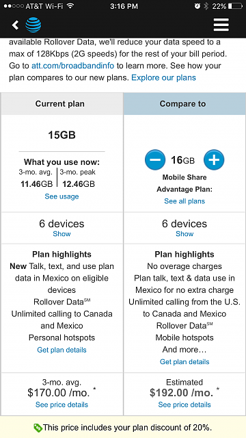 New AT&T mobile advantage plans. Should i?-img_0044.png