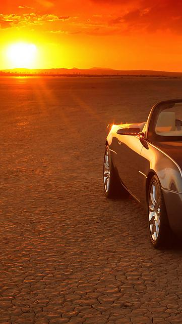 iPhone 5 Wallpapers-sunset-car-side.jpg