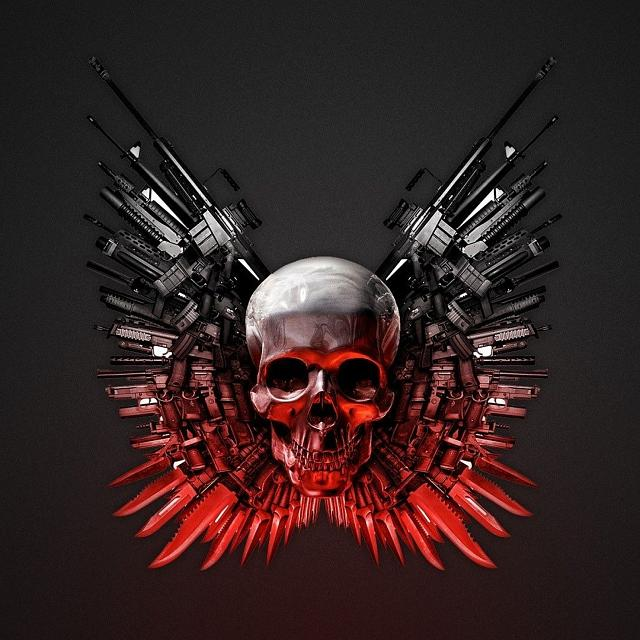 The gallery for --> The Expendables 2 Logo