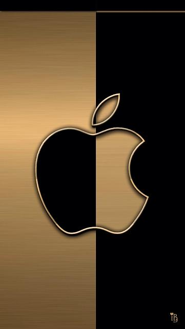 Black And Gold Iphone ...