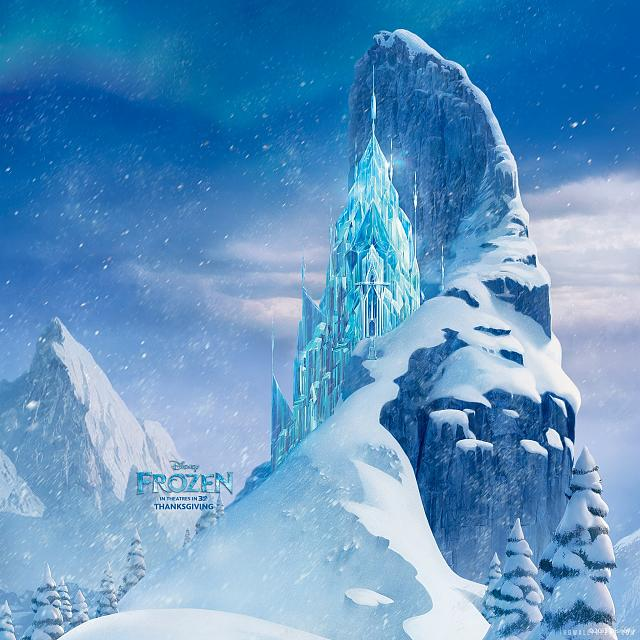 The Disney Movie QuotFrozenquot Retina Wallpaper Frozen Icecastle 2048x2048