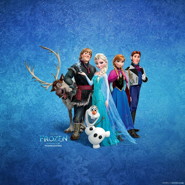 The Disney Movie QuotFrozenquot Retina Wallpaper Frozen 2013 2048x2048