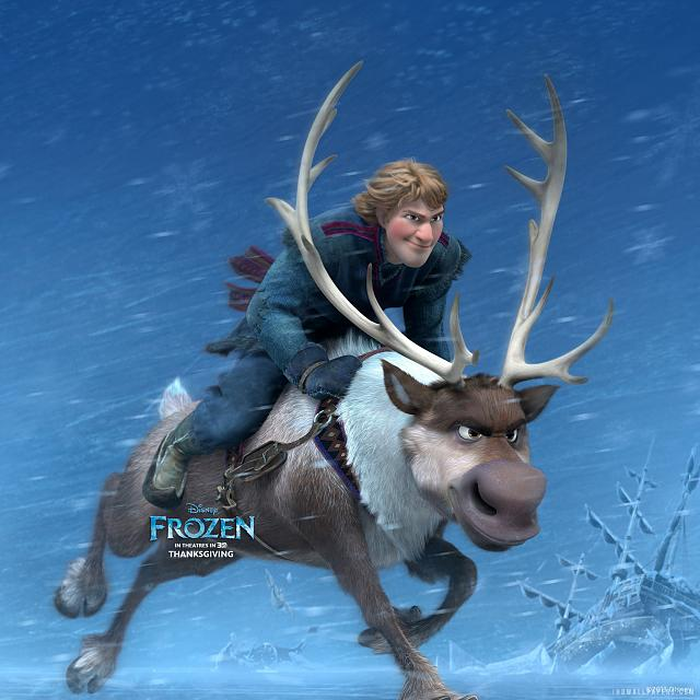"The Disney Movie, ""Frozen"" Retina Wallpaper-kristoff_sven_in_frozen-2048x2048.jpg"
