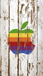 Apple Wallpaper..post your creative Apple wallpaper-iphone-5-retina-wallpaper-hd-weathered-wood-apple-white-logo-colors-1-w.jpg