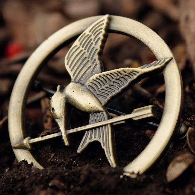 Mockingjay Pin Wallpaper Games Mockingjay Part 1