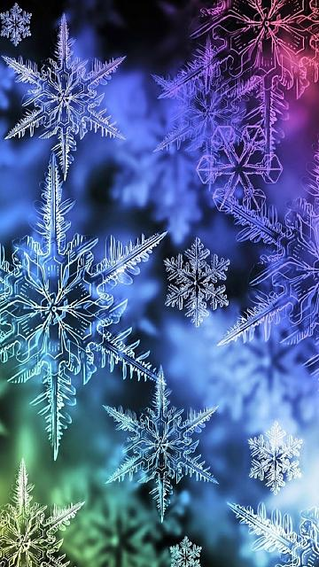 Your favorite holiday wallpapers?-colored_snowflakes.jpg