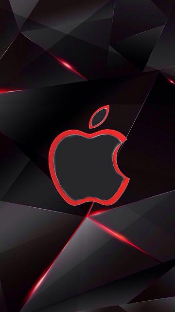 Can Someone Photoshop My Wallpaper With An Apple Logo