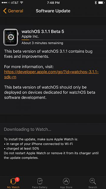 WatchOS 3.1.1 Dev  beta 5 is Availlable-img_0258.jpg